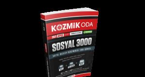 SOSYAL 3000 ÖABT SOSYAL BİLGİLER SORU BANKASI