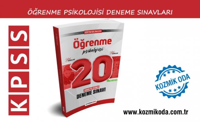 2021 KPSS ÖĞRENME PSİKOLOJİSİ DENEME SINAVI ÇÖZÜM PDF'Sİ