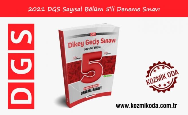YENİ DGS HAZIRLIK 5'Lİ SAYISAL DENEME SINAVI (PDF ÇÖZÜMLÜ)
