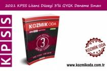 KPSS HAZIRLIK GYGK 3 LÜ DENEME SINAVLARI (PDF ÇÖZÜM)