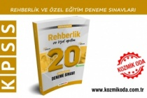 2021 KPSS ÖĞRETİM REHBERLİK VE ÖZEL EĞİTİM DENEME SINAVI ÇÖZÜM PDF'Sİ