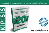 2021 KPSS PROGRAM GELİŞTİRME DENEME SINAVI ÇÖZÜM PDF'Sİ
