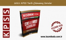 2021 KPSS ÇIKMAMIŞ TARİH SORU BANKASI (PDF ÇÖZÜMLÜ)