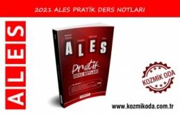 2021 ALES PRATİK DERS NOTLARI