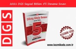 YENİ DGS HAZIRLIK 5'Lİ SAYISAL DENEME SINAVI...