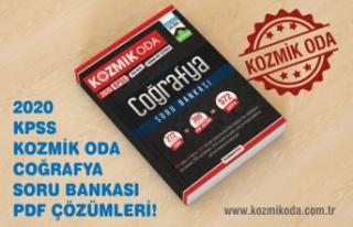 2020 KPSS KOZMİK ODA COĞRAFYA SORU BANKASI ÇÖZÜM...