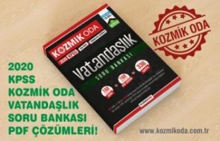 2020 KPSS KOZMİK ODA VATANDAŞLIK (ANAYASA) SORU...