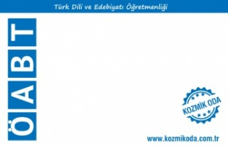 Kozmik Oda Türk Dili ve Edebiyatı ÖABT Deneme Seti