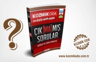 KPSS ÇIKMAMIŞ SORULAR COĞRAFYA SORU BANKASI