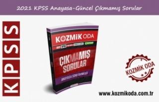 2021 KPSS ÇIKMAMIŞ ANAYASA-GÜNCEL BİLGİLER SORU...