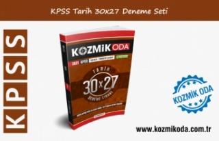 KPSS KOZMİK ODA GENEL KÜLTÜR 30X27 TARİH DENEME...