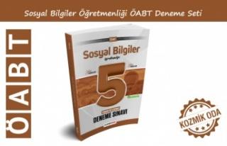 YENİ ÖABT SOSYAL BİLGİLER ÖĞRETMENLİĞİ DENEME...