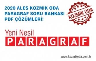 ALES PARAGRAF SORU BANKASI PDF ÇÖZÜMLERİ