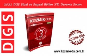 2021 DGS HAZIRLIK 3'LÜ DENEME SINAVI (PDF ÇÖZÜMLÜ)