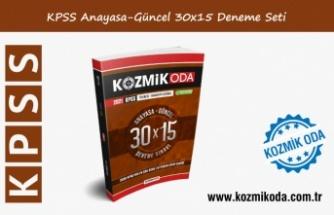 2021 KPSS KOZMİK ODA GENEL KÜLTÜR 30X15 ANAYASA-GÜNCEL DENEME SETİ ÇÖZÜMLERİ