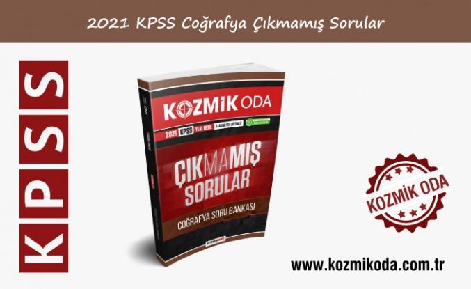 2021 KPSS ÇIKMAMIŞ COĞRAFYA SORU BANKASI (PDF ÇÖZÜMLÜ)