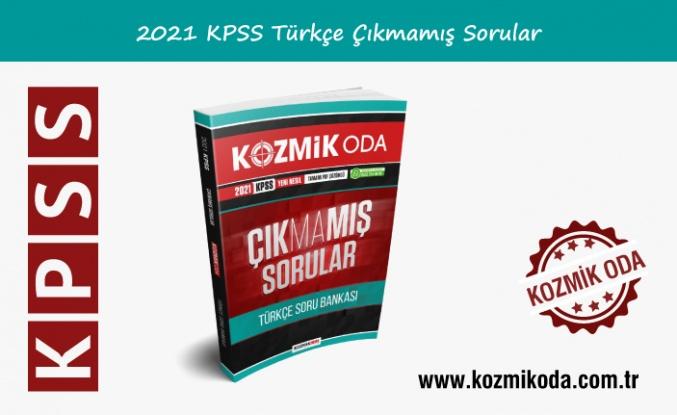2021 KPSS ÇIKMAMIŞ TÜRKÇE SORU BANKASI (PDF ÇÖZÜMLÜ)