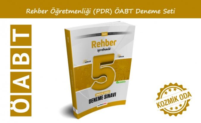 YENİ ÖABT REHBER - PDR ÖĞRETMENLİĞİ DENEME SETİ