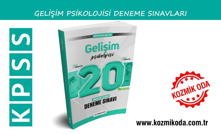 2021 KPSS GELİŞİM PSİKOLOJİSİ DENEME SINAVI ÇÖZÜM PDF'Sİ
