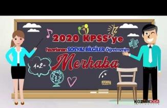 KOZMİK ODA 2020 KPSS OABT SOSYAL BİLGİLER ÖĞRETMENLİĞİ DENEME SETİ