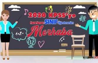 KOZMİK ODA 2020 KPSS OABT SINIF ÖĞRETMENLİĞİ DENEME SETİ